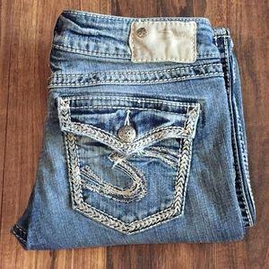 🦋 Silver Jeans Sz 29